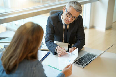 Working with a lender